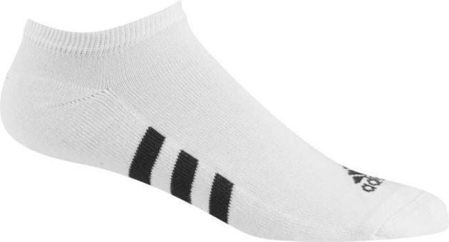 Adidas Single No-Show Socks White 44 -49