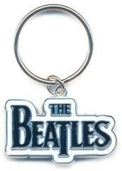 The Beatles Standard Keychain Drop T Logo Black