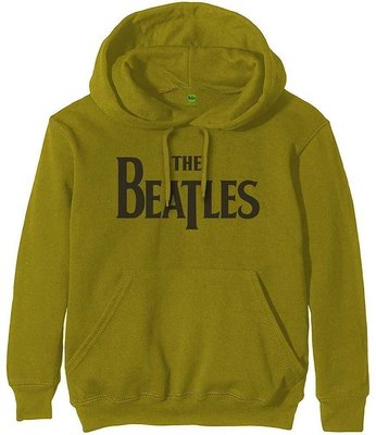 The Beatles Unisex Pullover Hoodie Drop T Logo L