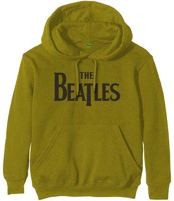 The Beatles Unisex Pullover Hoodie Drop T Logo L