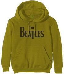 Rock Off The Beatles Unisex Pullover Hoodie Drop T Logo Green