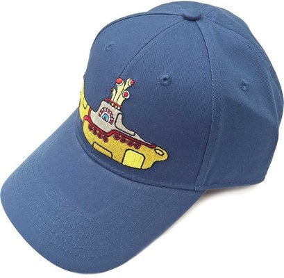 The Beatles Unisex Baseball Cap Yellow Submarine Denim Blue