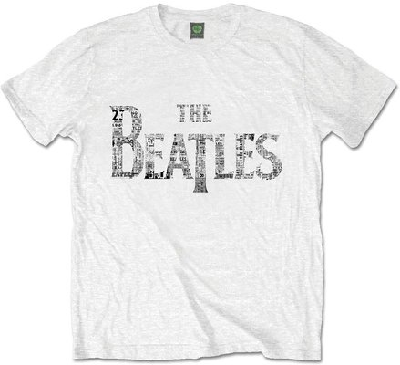 The Beatles Unisex Premium Tee Drop T Tickets L