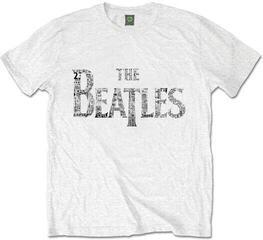 The Beatles Unisex Premium Tee Drop T Tickets XL