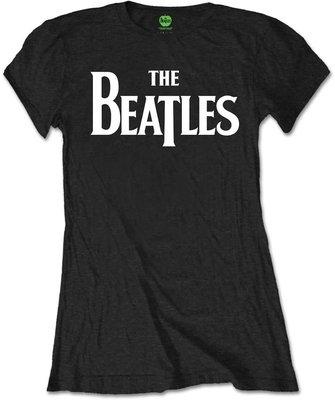 The Beatles Tee Drop T Logo Black (Retail Pack) M