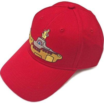 The Beatles Unisex Baseball Cap Yellow Submarine Red