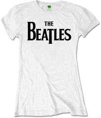 The Beatles Ladies Tee Drop T Logo (Retail Pack) White