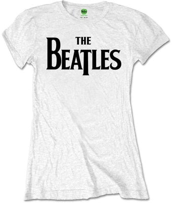 The Beatles Tee Drop T Logo White (Retail Pack) M