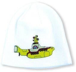 Rock Off The Beatles Unisex Beanie Hat Yellow Submarine Black