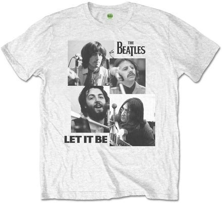 The Beatles Unisex Tee Let it Be (Retail Pack) L