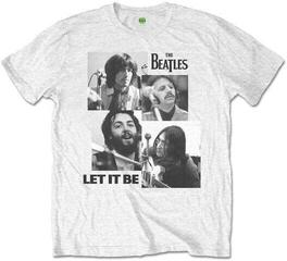 The Beatles Unisex Tee Let it Be (Retail Pack) Grey