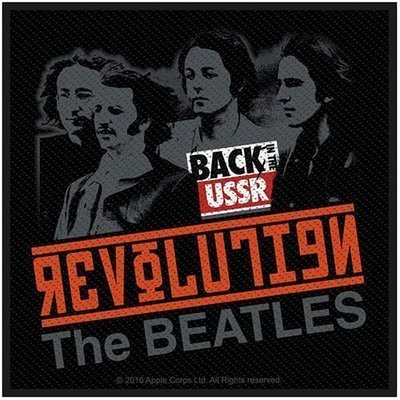 The Beatles Standard Patch Revolution