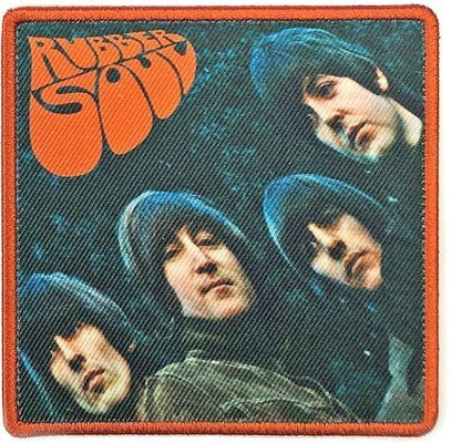 The Beatles Standard Patch Rubber Soul Album Cover (Loose)