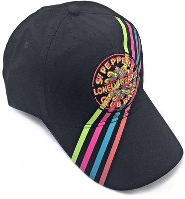 The Beatles Unisex Baseball Cap Sgt Pepper Drum Stripes
