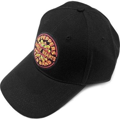 The Beatles Unisex Baseball Cap Sgt Pepper Drum Black