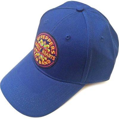 The Beatles Unisex Baseball Cap Sgt Pepper Drum Mid Blue