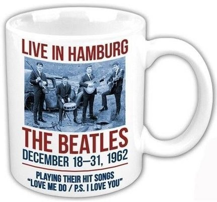 The Beatles Boxed Standard Mug Hamburg 1962