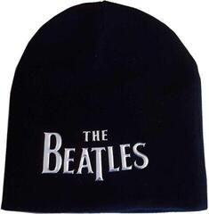 The Beatles Unisex Beanie Hat Drop T Logo Sonic Silver