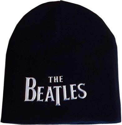 The Beatles Unisex Beanie Hat Drop T Logo Sonic Silver