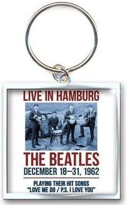 The Beatles Standard Keychain 1962 Hamburg