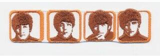 Rock Off The Beatles Standard Patch Heads in Boxes (Iron On)