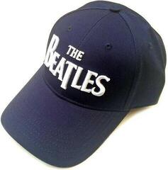The Beatles Unisex Baseball Cap: Drop T Logo Navy Blue