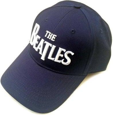 The Beatles Unisex Baseball Cap: Drop T Logo Navy Blue