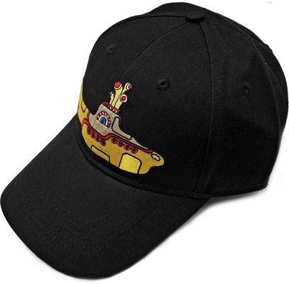 The Beatles Unisex Baseball Cap Yellow Submarine Black