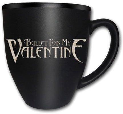 Bullet For My Valentine Boxed Matt Mug Logo (Laser Etched)