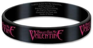 Bullet For My Valentine Gummy Wristband Logo