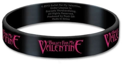 Bullet For My Valentine Gummy Karkötő Logo