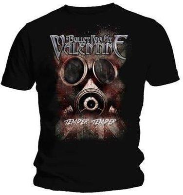 Bullet For My Valentine Unisex Tee Temper Temper Gas Mask XXL