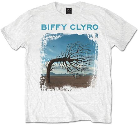 Biffy Clyro Unisex Tee Opposites White L