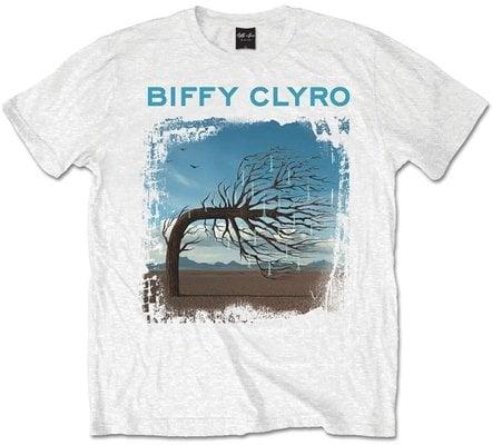 Biffy Clyro Unisex Tee Opposites White XXL