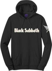 Black Sabbath Unisex Pullover Hoodie Logo & Daemon (Applique Motifs) Black