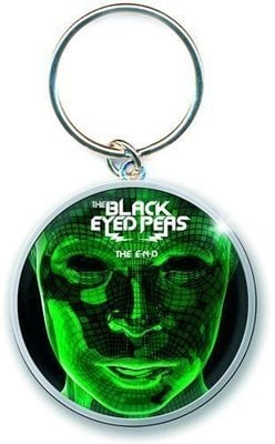 The Black Eyed Peas Standard Keychain The End Album