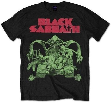 Black Sabbath Unisex Tee Sabbath Cut-out M