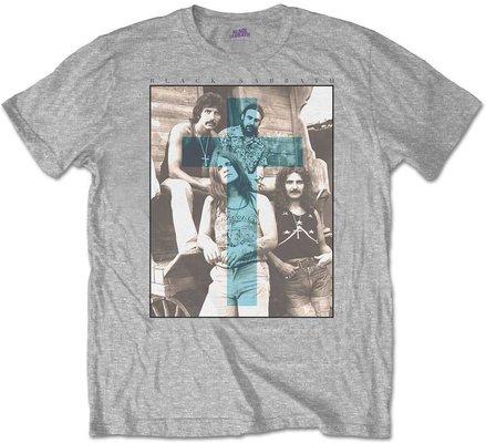 Black Sabbath Unisex Tee Blue Cross S
