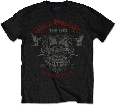 Black Sabbath Unisex Tee The End Mushroom Cloud S