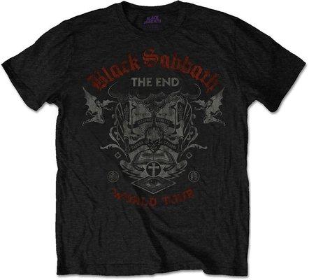 Black Sabbath Unisex Tee The End Mushroom Cloud XXL
