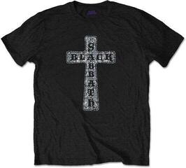 Black Sabbath Cross (Diamante) Fekete