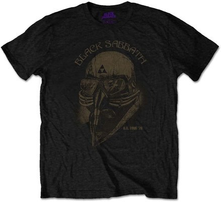 Black Sabbath Unisex Tee US Tour 1978 S
