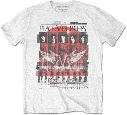 Black Veil Brides Unisex Tee Group Scatter L