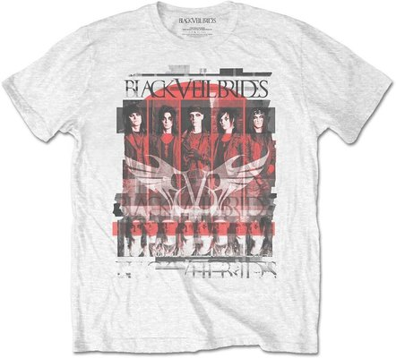 Black Veil Brides Unisex Tee Group Scatter XXL