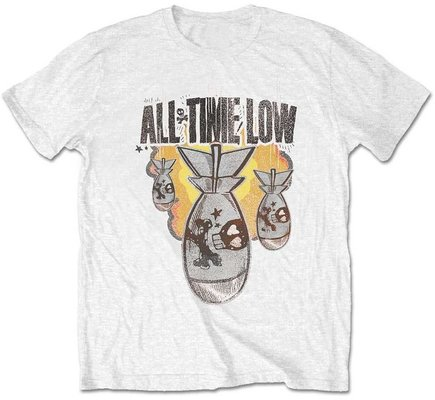 All Time Low Unisex Tee Da Bomb (Retail Pack) White S