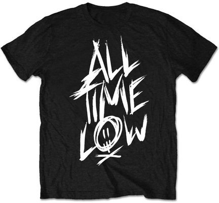 All Time Low Unisex Tee Scratch (Retail Pack) Black L