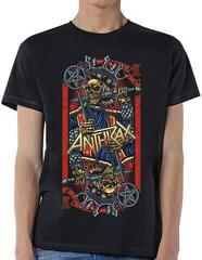 Anthrax Unisex Tee Evil King Black
