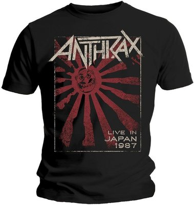 Anthrax Unisex Tee Live in Japan L