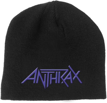 Anthrax Logo Hudební čepice