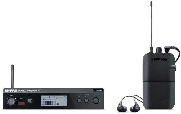 Shure PSM300 Stereo Personal Monitor System B-Stock